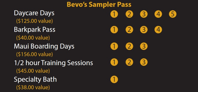 Bevo's Sampler Pass